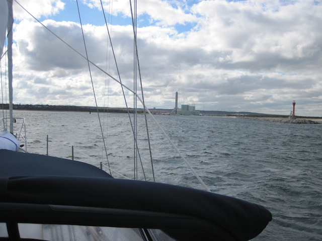 Approaching Cape Cod Canal